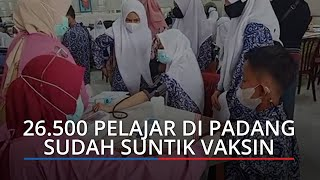 26.500 Pelajar di Padang Sudah Divaksin, Dinkes Minta Orang Tua Izinkan Anak Divaksin Covid-19