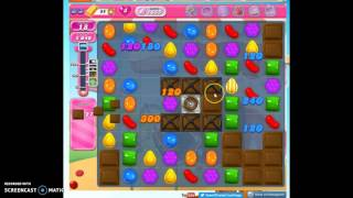 Candy Crush Level 1655 help w/audio tips, hints, tricks