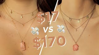 MAKING THE SAME JEWELRY: $17 Vs $170 💸 💸
