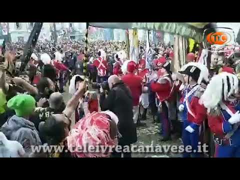 Preview video Storico Carnevale di Ivrea, Martedì premiazione Pantera Nera