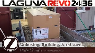 UNBOXING, Building, & 1st turn on my NEW LAGUNA REVO 24/36