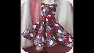 DIY HOW TO MAKE PANEL / GORE FLARE DRESS      Jessica  Nneka