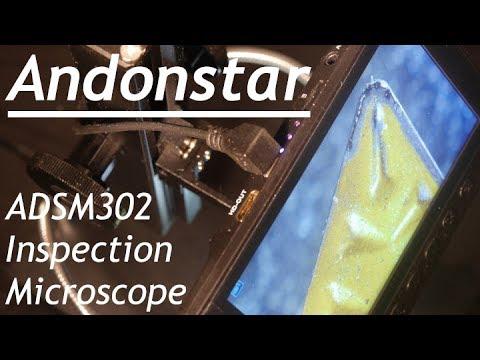Microscopio digitale Andonstar ADSM302 560X HDMI
