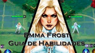Marvel Super War - Guia De Habilidades - Emma Frost