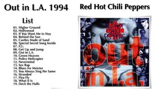 Red Hot Chili Peppers Greatest Hits - Full Album Out in L.A 1994