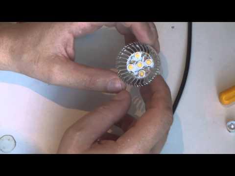 Ремонт светодиодных ламп (моргание лампы)