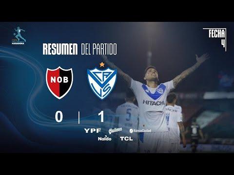 Vélez Sarsfield le ganó a Newell's y lo alcanzó en la cima de la Zona Complementación