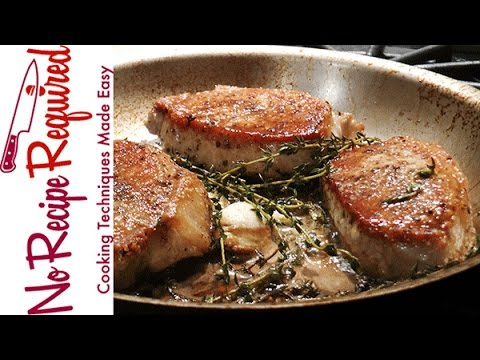 Video How to Cook Boneless Pork Chops - NoRecipeRequired.com