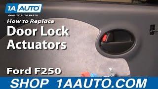 Replace Door Lock Actuator