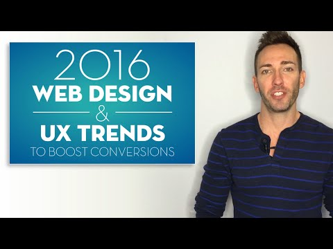 2016 Web Design Trends to Boost Conversions