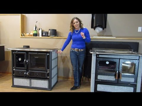 La Nordica Rosa Sinistra Reverse Cookstove - General Overview