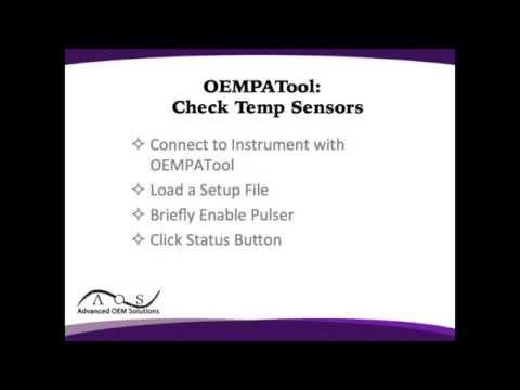 OEM-PA Tool: Check Temp Sensors