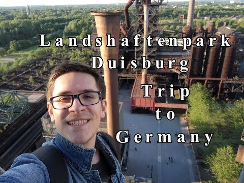 Дуйсбург Германия Ландшафтный парк