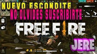 NUEVO ESCONDITE DE FREE FIRE MODO PURGATORIO!!  (JERE 57)