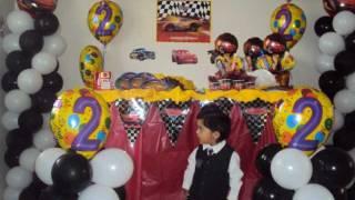 Disney Cars Birthday Party  Decoration