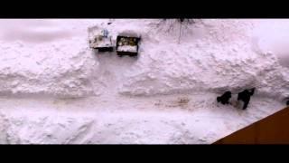 Snow in Sarajevo, 4.2.2012.
