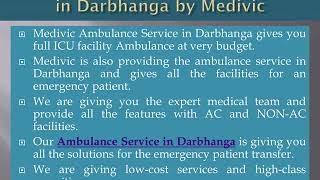 Hire Classy Ambulance Service in Patna with ICU Setup