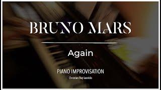 Natasha Bedingfield Ft. Bruno Mars - 'Again' [ piano cover improvisation ]
