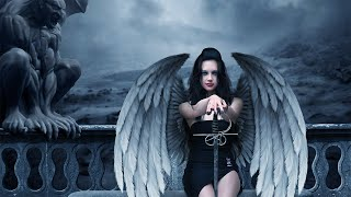 Make an evil angel in Photoshop - (PSD Box)