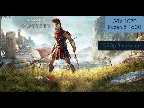 Assassin's Creed Odyssey Ultrawide Benchmark GTX 1070 and