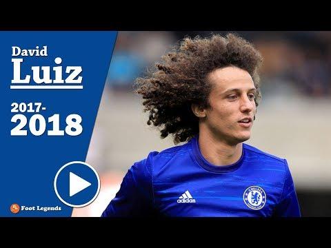 David Luiz - |CHELSEA| - 2018 ● Best Defensive Skills, Passes & Free kicks || HD