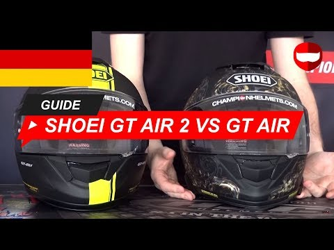 Shoei GT-Air 2 Helm Vs Shoei GT-Air Helm Review - ChampionHelmets.com
