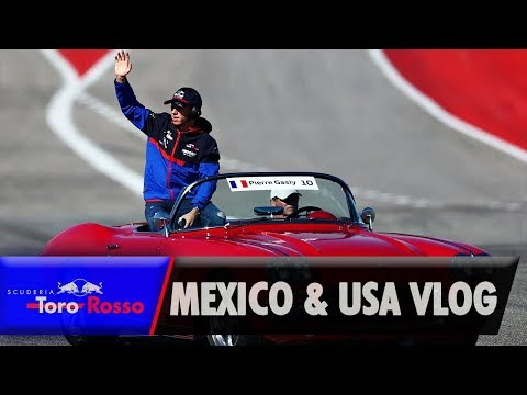 Image: Watch: Pierre Gasly's Mexican and US GP vlog