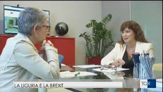 """Sara Armella intervista Tg3 """"Liguria e la Brexit"""""""
