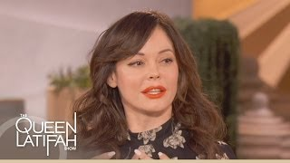 Роуз МакГоун,         Rose McGowan on The Queen Latifah Show