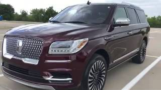 YACHT LEVELS OF LUXURY!---2018 Lincoln Navigator Black Label Review