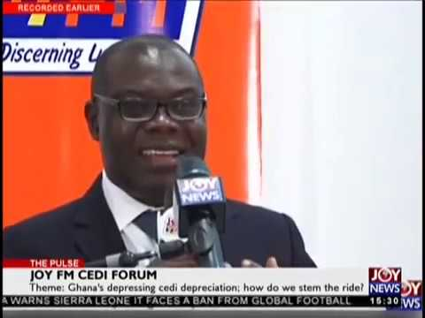Joy FM Cedi Forum   The Pulse on JoyNews 21 9 18