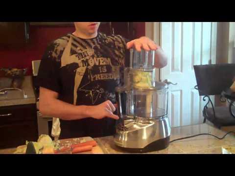 , Cuisinart DLC-8SBCY Pro Custom 11-Cup Food Processor, Brushed Chrome
