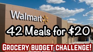 90 MEALS FOR $20! | Emergency Extreme Budget Grocery Haul 2020 | Julia Pacheco