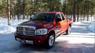 2008 Dodge Ram 1500 Quad Cab Laramie 4x4 Review.