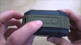 Omaker M4 Rugged Bluetooth Speaker Review