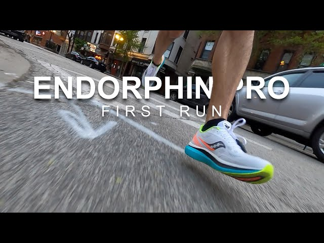 Saucony Endorphin Pro - First Run
