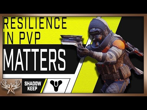 The magic Resilience number for PvP. Resilience matters