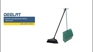 Dustpan and Brush Set (Metal) - 86*17*12 cm SKU #D1147411