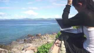 preview picture of video '旅する鈴木489:Wifi from Neighboring Island @Malawi'