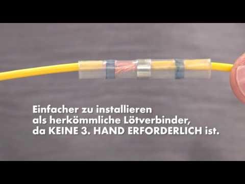 Würth Wärmeschrumpfender Quetsch-/Lötverbinder HIGH-END
