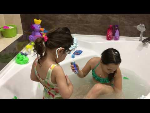Развлечения для детей игры в ванной видео для детей