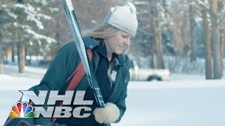 The Road Through Warroad | NHL | NBC Sports