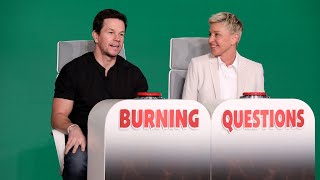 Mark Wahlberg Answers Ellen's 'Burning Questions'
