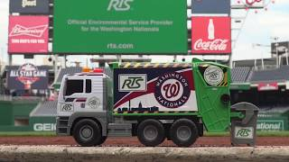 Nationals Pre-Game Recycling Message