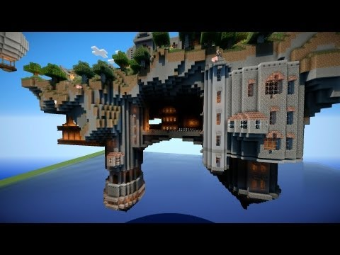 Floating island of altidor minecraft project for How to build a floating house