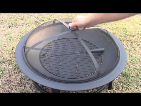 Mainstays 30 inch round fire pit/Walmart