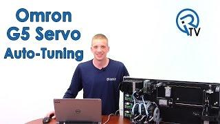 Omron G5 Servo Auto-Tuning