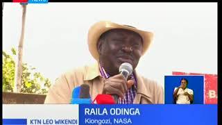 Ghadhabu Ya Raila:Odinga awasuta mabalozi wa kigeni,awataka kukoma kuingilia siasa za Kenya
