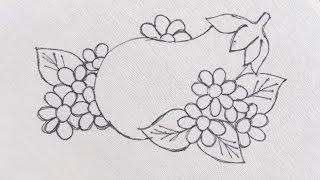 Latest Easy Hand Embroidery Designs Tutorials- Hand Embroidery Design For Dress,saree,kurti