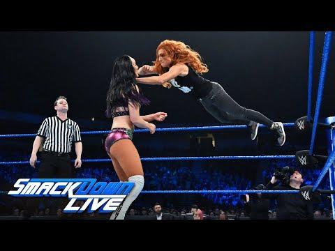 Becky Lynch vs. Peyton Royce: SmackDown LIVE, Jan. 15, 2019